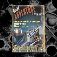 music album argento-platinoid dispatch box